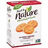 Back to Nature Crackers, Non-GMO Classic Rounds, 8.5 Ounce