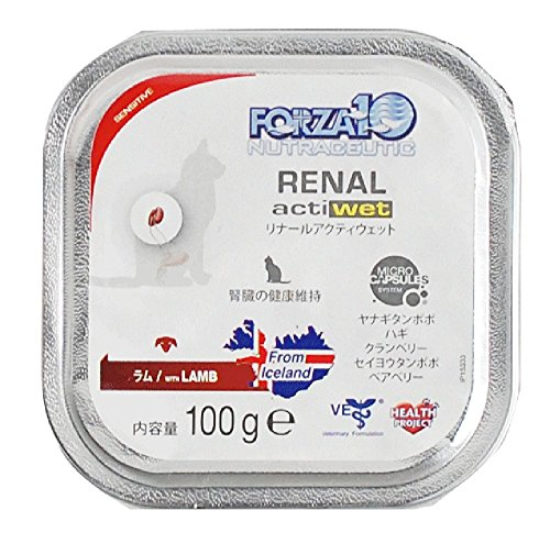 FORZA10|リナール(腎臓ケア) アクティウェット 100g×12缶セット キャットフード 自然飼育・無農薬