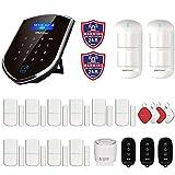 Wolf-Guard WM2GR-P 433 MHz WiFi & GSM Sistema de alarma de seguridad con detector de movimiento para...