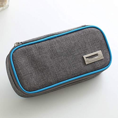 LHDD bolsa refrigerada de insulina gruesa, caja de medicinas, caja de congelación portátil para medicinas, bolsa de aislamiento médico, bolsa de hielo pequeña, paquete de hielo, medicina insulina caja refrigerada