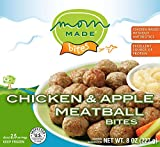 Mom Made Meatballs - Chicken & Apple Meatballs, Antibiotic-free, Healthy frozen meals made in the...