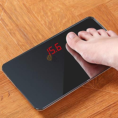 Nieuwe Elektronische Lichaamsschaal voor Home Named Precise Adult Smart Weight Scale Spiegel Mini Digitale Pocket Schaal Menselijk Gewicht Mijn Schalen