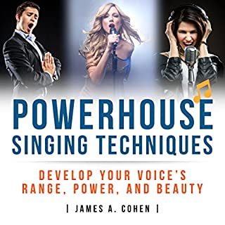 Powerhouse Singing Techniques audiobook cover art