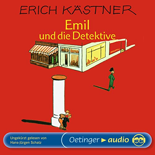 Couverture de Emil und die Detektive