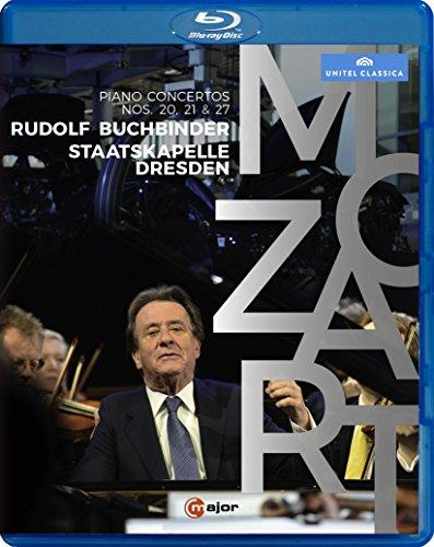 Mozart: Klavierkonzerte 20, 21 & 27 [Blu-ray]