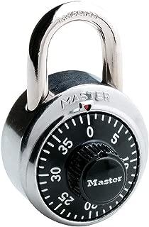 Master Lock 1500D Locker Lock Combination Padlock, 1 Pack, Black