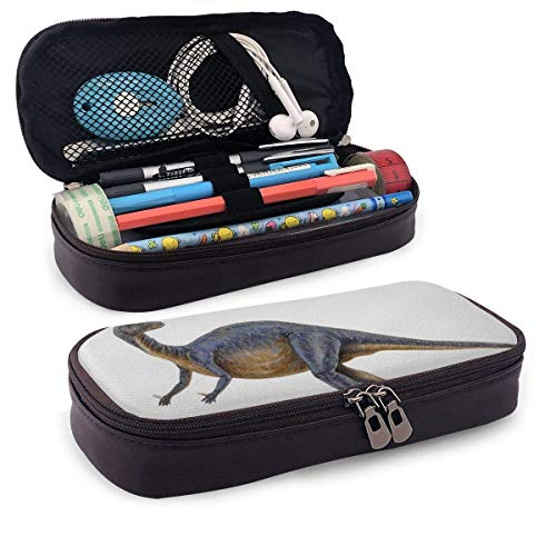 Dinosaurio (2) lindo estuche para lápices, suministros escolares para estudiantes y adultos