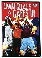 Premier League Own Goals & Gaffs III Soccer DVD