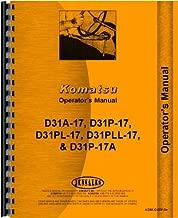 Komatsu D31PLL-17 Crawler Operators Manual (SN# 32003 and Up)