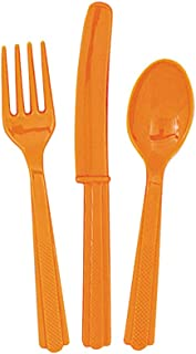 Unique Cutlery, Pumpkin Orange