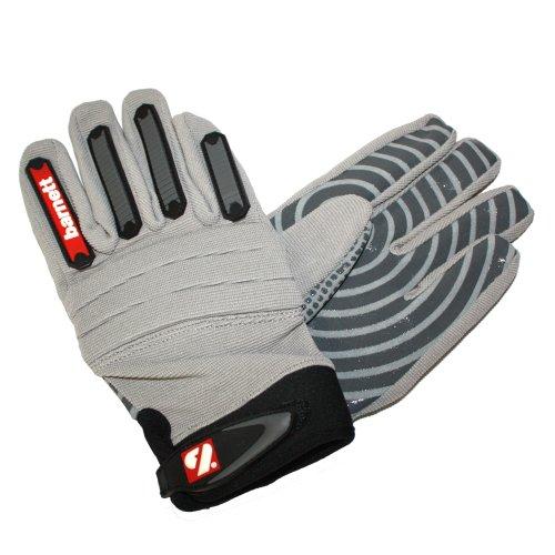 BARNETT American Football Handschuhe FKG-02 L Silber