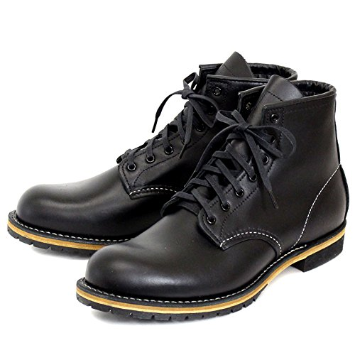 [レッドウィング] 9014 BECKMAN ROUND BOOTS ベックマンラウンドブーツ BLACK ブラック-5.5D-約23.5cm