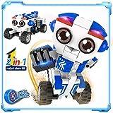 STEM 2-in-1 Creation Robot Toys, Popular Pull-Back...