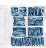Coceca Hardware Nail Assortment Kit 600pcs, Galvanized Nails for Hanging Pictures, 7 Size ...