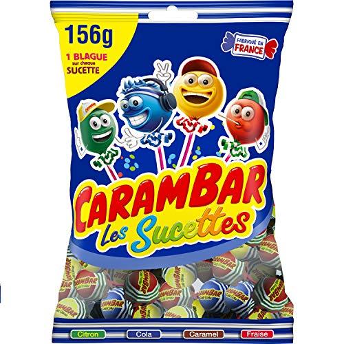 Carambar Bonbon Sucettes Family 156 g