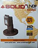 SOLID 4 Output Linear C Band Satellite Dish LNB (CB-4) 12K