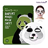 Holika Holika - Mascarilla Baby Pet 22 ml - Magic Mask Sheet - Panda - 1 unidad