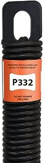 P332 32-Inch Plug-End Garage Door Spring (.244