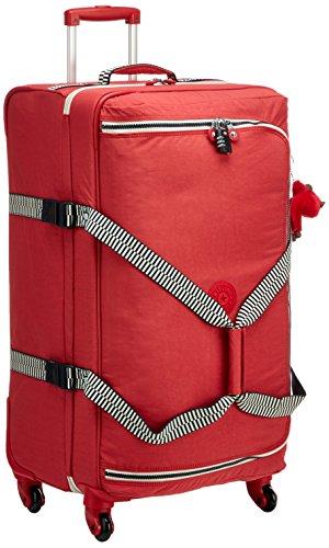 Kipling Cyrah L Equipaje de Mano, 79 cm, 101.5 litros, Rojo (Spicy Red Mix)