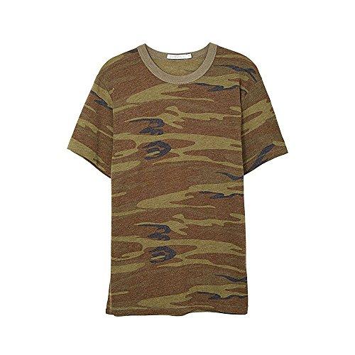 ALTERNATIVE APPAREL Herren Öko-Jersey Crew T-Shirt, Camo, M