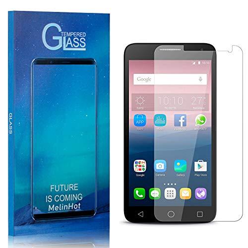MelinHot Vetro Temperato per Huawei Ascend Y550, Durezza 9H, HD Trasparente Pellicola Protettiva in Vetro Temperato per Huawei Ascend Y550, Facile da Pulire, 1 Pezzi