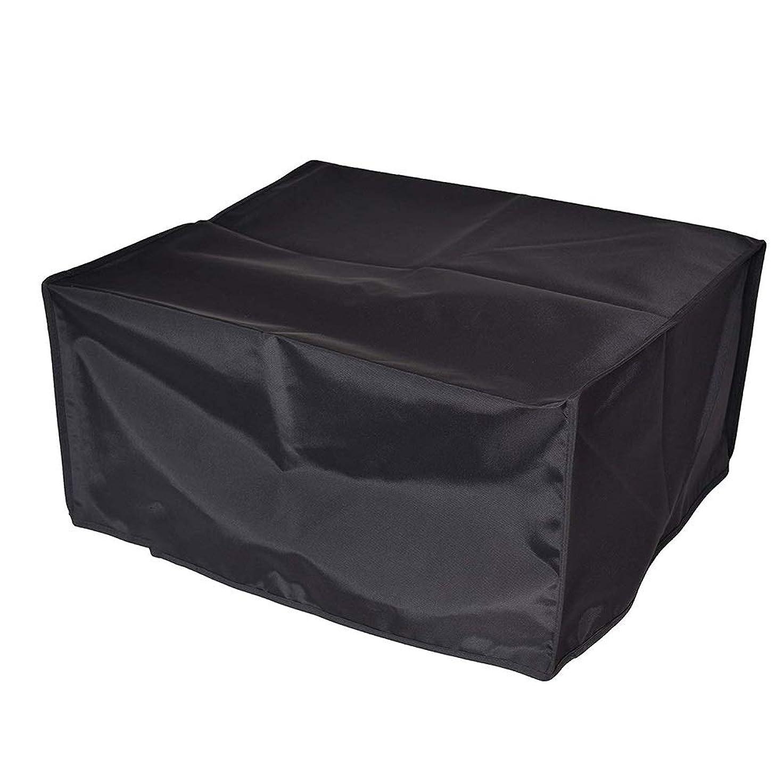 名前騒ボトルLCAIHUA ガーデン家具カバー家具カバーダストカバー耐摩耗性屋外用家庭用、オックスフォード布、サイズはカスタマイズ可能 (Color : Black, Size : 213×123×74cm)