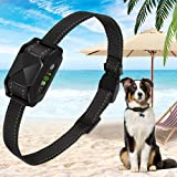 iTecFreely Dog Bark Collar, No Bark Collar Electric Vibrating, Waterproof Shock Collars R...
