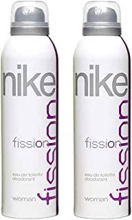 Nike Fission Deodorant for Women, 200ml (Pack of 2)