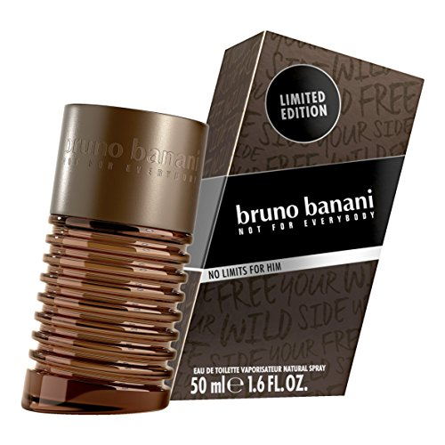 Bruno Banani No Limits for Men Eau de Toilette, 50 ml
