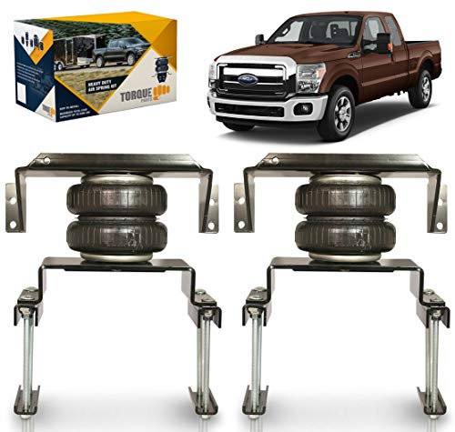 TORQUE Air Bag Suspension Kit for 2017-2021 Ford F250 F350 2WD [up to 5,000 lbs. of Load Leveling Capacity] (Replaces Firestone 2600 Ride-Rite) (TR2600)