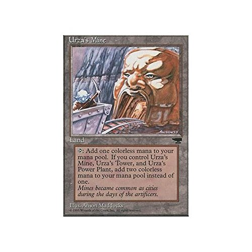 Magic The Gathering - Urza39;s Mine (Mouth) - Chronicles