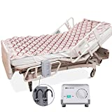 MARNUR Alternating Pressure Mattress Medical Air Mattress with Inflatable Pad & Electric Pump