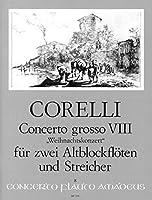 """CORELLI - Concierto Grosso Op.6 nコ 8 en Sol menor """"Concierto de Navidad"""" para 2 Flautas, Cuerdas y BC"""