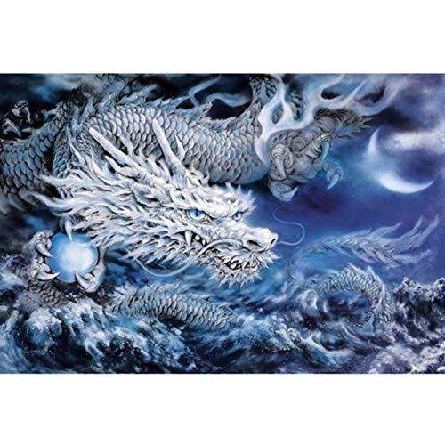 Diamant Schilderen Ronde Volledige China Draak Borduurwerk Cross Steek Strass Mozaïek Decoratie