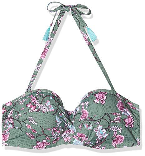ESPRIT BILGOLA BEACH       pad.bandeau BC Bikini, Damen, Grün 38 D
