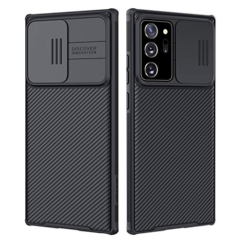 Nillkin Samsung Galaxy Note 20 Ultra Case, CamShield Pro Series Slim Case with Slide Camera Cover (Black)