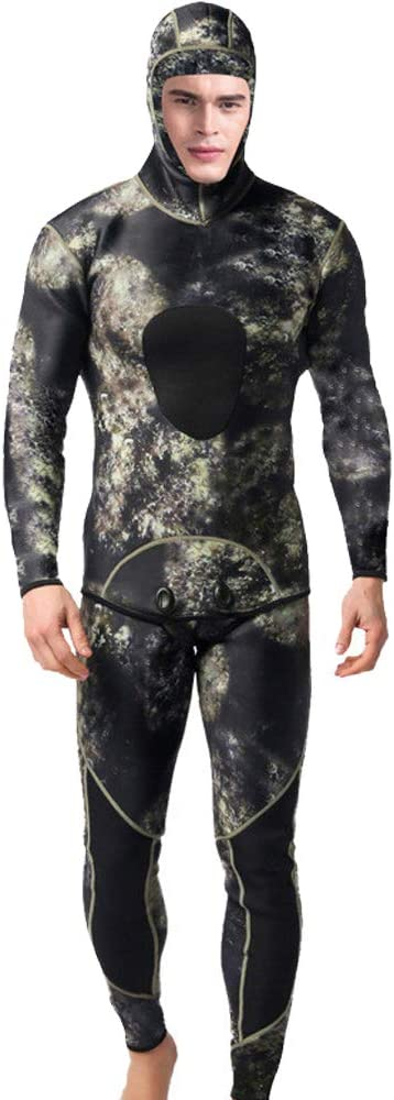 2MM Scuba Diving Now on sale Suits Sales results No. 1 2 pcs Wetsuit for Keep Sleeve Wa Long Men