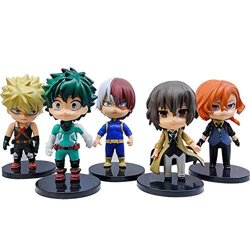 Zhongkaihua My Hero Academia Figure 6,5-10,6 cm Pop/Toga/Deku/Kirishima/Todoroki/Banpresto/Bakugo/Tsuyu/Tomura/Dabi Academia Set