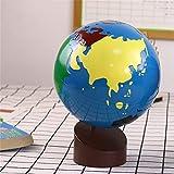 BSJZ Globo Explore The World Globo Giratorio Educativo Mundo Continental y Globo de Color de Agua Globo Helado Globo de Ayuda didáctica para niños Juguetes para niño