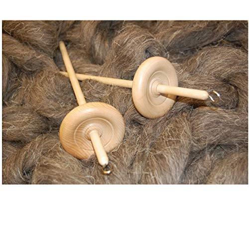 The Wool Barn Hand-Spindel zum Spinnen von Wolle