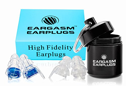 Eargasm High Fidelity Earplugs for Concerts Musicians Motorcycles Noise Sensitivity