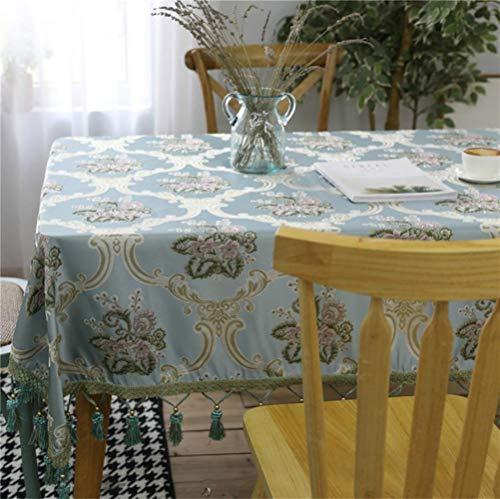 K-ONE Manteles de mesa para el hogar Textil mesa de comedor para boda fiesta de cocina Manteles para mesa rectangular estilo europeo, Landiouhua, about 90x140cm