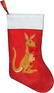 Funny Boxing Kangaroo Christmas Stockings for Family Party Xmas Holiday Decorations