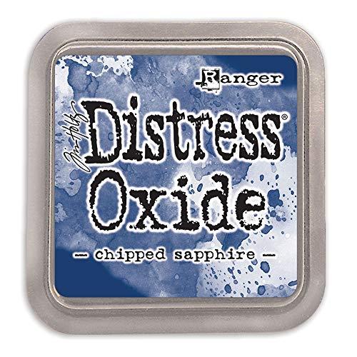 Ranger TDO55884 Tim Holtz Distress Oxide Stempelkissen Chipped Sapphire, Orange, 7, 6 x 7, 6 cm