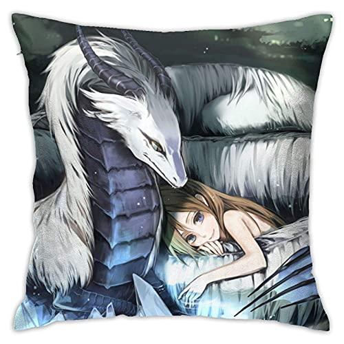 qinhuang Dragon Personalized Kissenbezug, zum Dekorieren Sofa Schlafzimmer 18x18 Zoll Kissenbezug