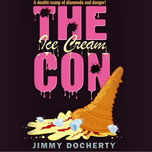 The Ice Cream Con audiobook cover art