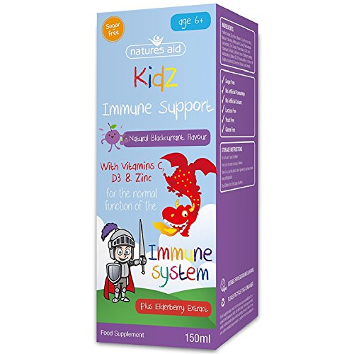 Natures Aid 150 ml Ribes Kidz Supporto Immunitario