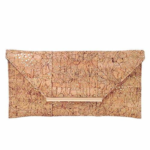 Ladies Luxury Cork Fabric Wallet
