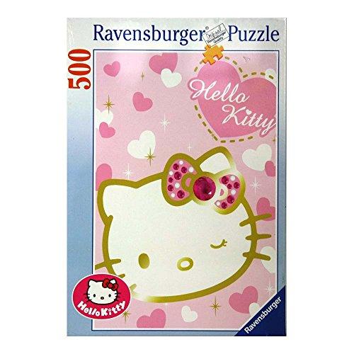 Ravensburger Italy Puzzle 500 Pezzi Hello Kitty, Multicolore, 4005556145768