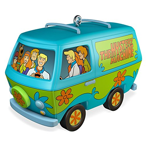 Hallmark 2016 Scooby-Doo The Mystery Machine Musical Christmas Ornament